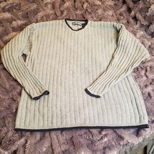 Vintage STRUCTURE Ramie Cotton Sweater